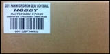 2011 Panini Gridiron Gear Football Hobby 16-Box Case