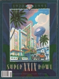 Super Bowl XXIX Game Program Memorabilia San Francisco 49ers vs. San Diego