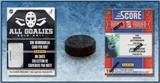COMBO DEAL - 2010/11 Factory Sealed Hockey Sets (All Goalies & Score Traded)