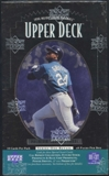 1996 Upper Deck Series 1 Baseball Retail 28-Pack Box