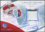 2010/11 Ultimate Collection Rookie Patch Autographs #139 P.K. Subban 3/25