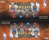 2008/09 Fleer Hot Prospects Basketball 24-Pack Box (One Autograph or Memorabilia Card Per Box)!