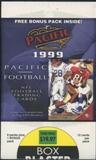 1999 Pacific Football Blaster Box