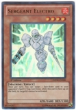 Yu-Gi-Oh Photon Shockwave Single Sergeant Electro Ultra Rare