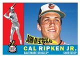 2010 Topps Heritage 1960 National Convention VIP #575 Cal Ripken Jr.