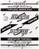 2010 Score Football Retail Rack Pack Box