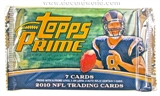 2010 Topps Prime Football Retail Pack