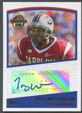 2005 Topps Football Troy Williamson Auto