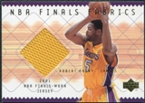 2001/02 Upper Deck NBA Finals Fabrics #ROF Robert Horry