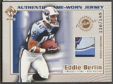 2002 Pacific Private Stock Football Eddie Berlin Patch #116/149