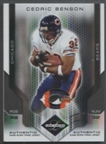 2007 Leaf Limited Football Cedric Benson Patch #03/10
