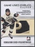 2009/10 Heroes and Prospects Hockey Mikhail Stefanovich Emblem /3
