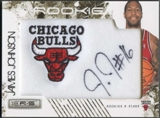 2009/10 Rookies & Stars Basketball James Johnson Rookie Jersey Auto #08/25