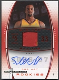 2006/07 Hot Prospects Basketball Shelden Williams Rookie Patch Auto #14/50