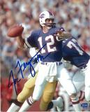 Joe Ferguson Autographed Buffalo Bills 8x10 Throwing Photo