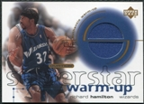 2001/02 Upper Deck Ovation Superstar Warm-Ups #RH Richard Hamilton