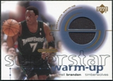 2001/02 Upper Deck Ovation Superstar Warm-Ups #TB Terrell Brandon