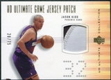 2000/01 Ultimate Collection Game Jerseys Patches #JKP Jason Kidd 28/75