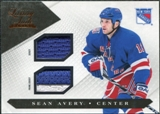 2010/11 Panini Luxury Suite Jerseys Prime #45 Sean Avery /150