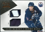 2010/11 Panini Luxury Suite Jerseys Sticks #27 Ales Hemsky /100