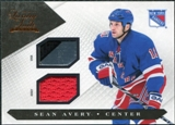 2010/11 Panini Luxury Suite Jerseys Sticks #45 Sean Avery /100