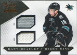 2010/11 Panini Luxury Suite Jerseys Sticks #59 Dany Heatley /100
