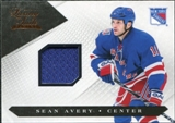 2010/11 Panini Luxury Suite #45 Sean Avery Jersey /599