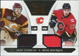 2010/11 Panini Luxury Suite #79 Rene Bourque Alex Tanguay Dual Jersey /599