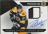 2010/11 Panini Luxury Suite #136 Jordan Caron Rookie Autograph Patch /299