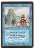 Magic the Gathering Beta Single Ancestral Recall LIGHT PLAY (NM)