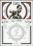 2009/10 Panini Playoff National Treasures #128 Lenny Wilkens /99