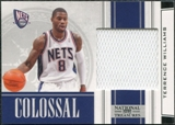 2009/10 Panini Playoff National Treasures Colossal Materials #16 Terrence Williams /25