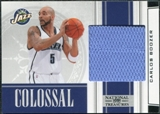 2009/10 Panini Playoff National Treasures Colossal Materials #39 Carlos Boozer /10