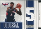 2009/10 Panini Playoff National Treasures Colossal Materials Jersey Numbers #45 Josh Smith /99