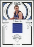 2009/10 Panini Playoff National Treasures Century Materials #13 David Lee /49