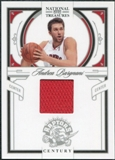 2009/10 Panini Playoff National Treasures Century Materials #39 Andrea Bargnani /99