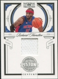 2009/10 Panini Playoff National Treasures Century Materials #79 Richard Hamilton /99