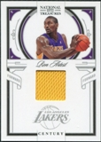 2009/10 Panini Playoff National Treasures Century Materials #80 Ron Artest /99