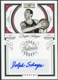 2009/10 Panini Playoff National Treasures Century Signatures #104 Dolph Schayes /25