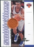 2000/01 Upper Deck MVP Game-Used Souvenirs #AHS Allan Houston