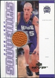 2000/01 Upper Deck MVP Game-Used Souvenirs #JWS Jason Williams
