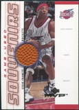 2000/01 Upper Deck MVP Game-Used Souvenirs #SFS Steve Francis