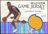 1999/00 Upper Deck Encore Game Jerseys #JBJ Jonathan Bender