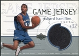 1999/00 Upper Deck Game Jerseys #GJ23 Richard Hamilton
