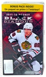 2011/12 Upper Deck Black Diamond Hockey 6-Pack Box