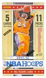 2011/12 Panini Hoops Basketball 11-Pack 10-Box Lot