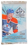 2011/12 Upper Deck SP Authentic Hockey Hobby Pack
