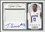 2009/10 Playoff National Treasures #236 Tyreke Evans Rookie Jersey Autograph 46/97