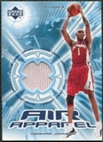 2002/03 Upper Deck Air Apparel #DJAA DerMarr Johnson