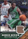 2005/06 Upper Deck Rookie Review Materials #TA Tony Allen